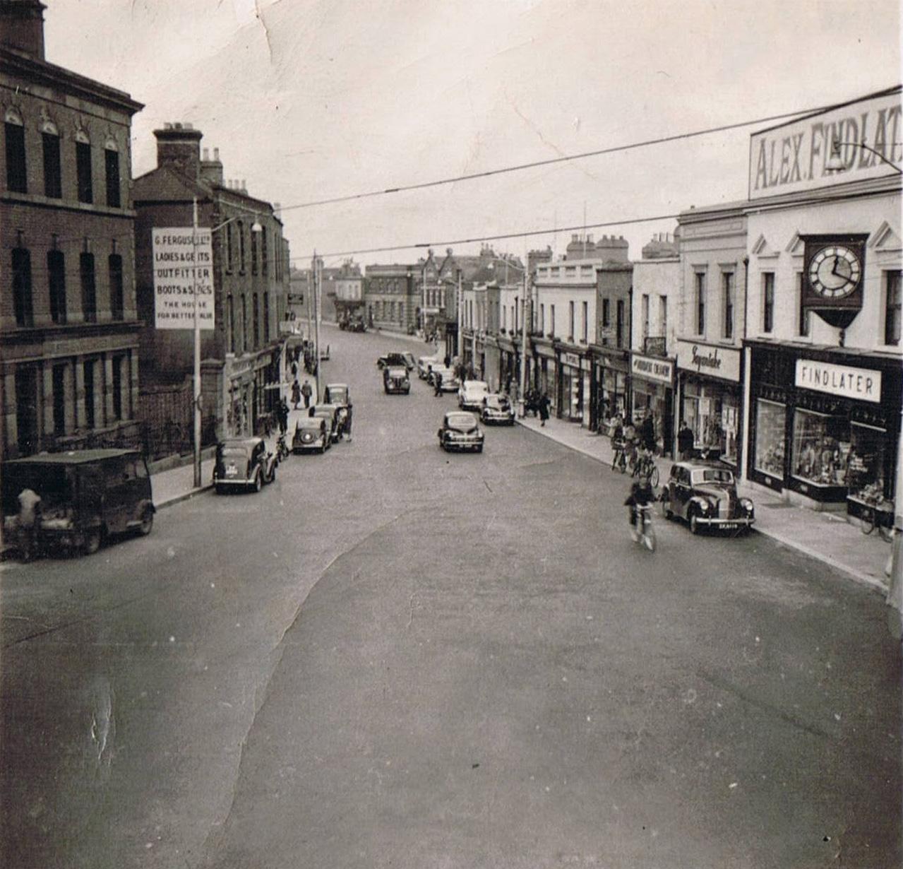 Main Street-before
